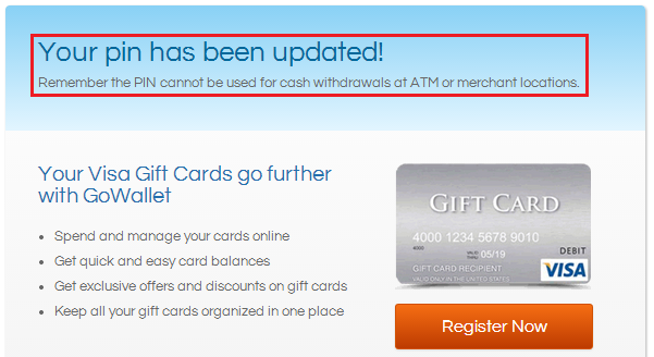 How to Register a Mastercard Gift Card Before use